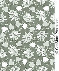 Leichter Blumen Hintergrund, Muster