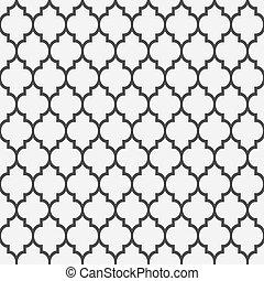 Leichtes Muster im islamischen Stil