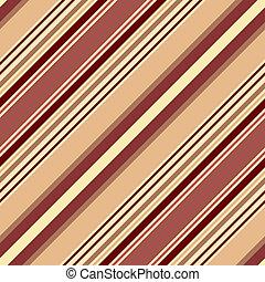 Leichtes pastellbraunes diagonales gestreiftes Muster