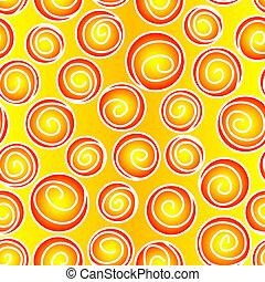 Leichtes Spiralmuster