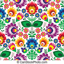 Leichtes traditionelles Blumenmuster