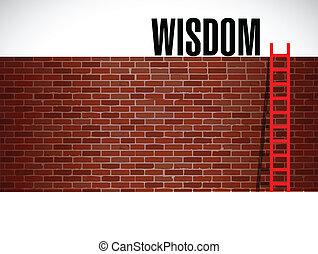 Leiter der Weisheit. Illustration