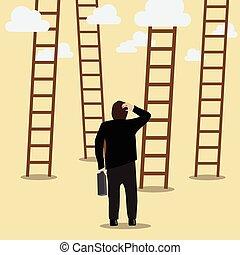 Leiter zum Erfolg