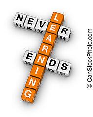 Lernen endet nie.