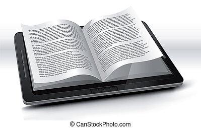 Leser in Tablet PC
