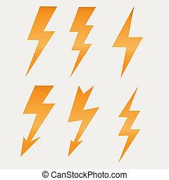 Leuchten Icon flach Design lange Schatten vektor Illustration.
