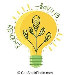 licht, einsparung, zwiebel, energie