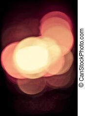 licht, fokus, heraus