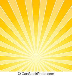 licht, hell, gelber , balken