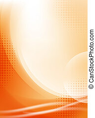 Licht-Orangen-Fluss-Hintergrund mit Halbtone entfernen