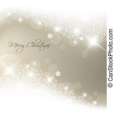 Lichtsilber abstrakter Weihnachts Hintergrund