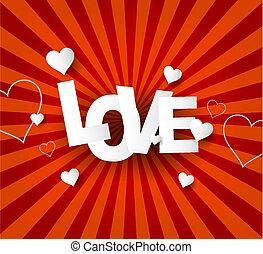 Liebe abstrakter Hintergrund