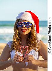 liebe, australia, weihnachten