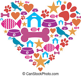 Liebe für Haustiere