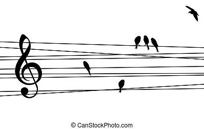 Liebe für Musikkomposition