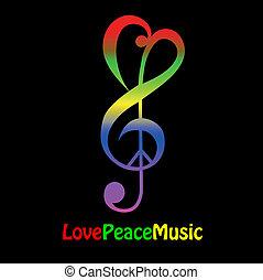 Liebe, Frieden und Musik
