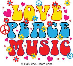 Liebe Friedensmusik.