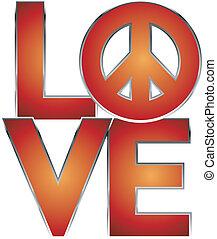 Liebe ist Frieden