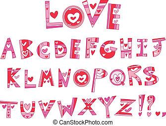Liebes Alphabet