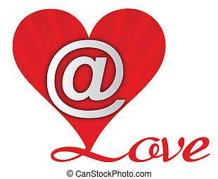 Liebes-E-Mail