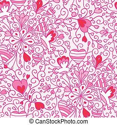 Liebesblumen ohne Muster