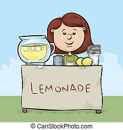 Limonadenstand.