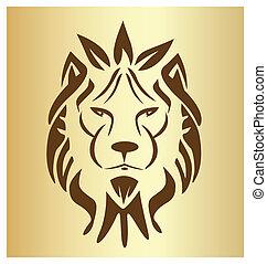 Lion Face Old Logo