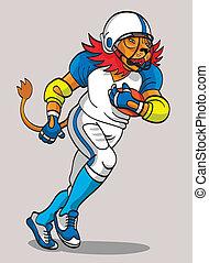 Lion - Footballspieler