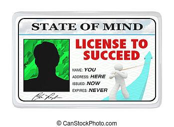 Lizenz zum Erfolg - Erlaubnis für ein erfolgreiches Leben