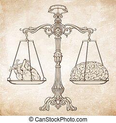 Logik und Emotionspriorität