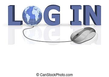 Login oder Logon geben Sie die www.