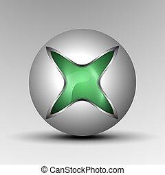 logo., 3d