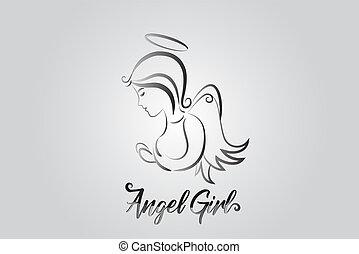 Logo Engel beten.