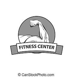 Logo für Fitness-Center.