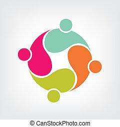 Logo Gemeinschaft Gruppe Freunde 4.