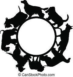 logo, hunden