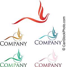 logo, phoenix