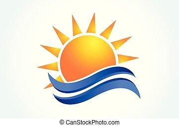 Logo-Sonnenwellen.