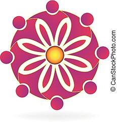 Logo-Teamwork-Blume.