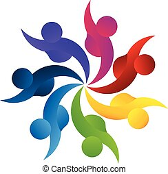 Logo-Teamwork-Business-Leute