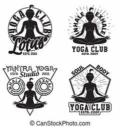 logo, weinlese, design