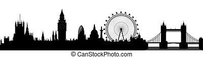 London Skyline - Vektor.