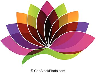 Lotus-Blumen-Logo.