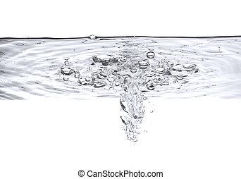 Luftblasen im Wasser