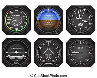 Luftfahrzeuginstrumente