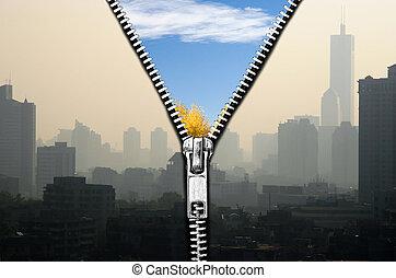 Luftqualität.
