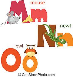 Lustiges Alphabet 5