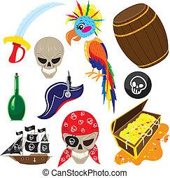 Lustiges Piratenset
