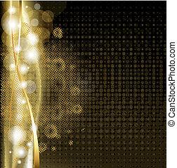 Luxus-Hintergrund mit Sternen