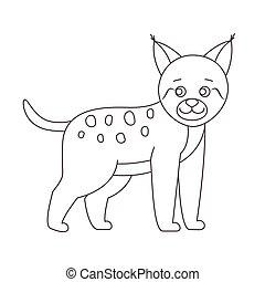 Lynx für Farbbuch